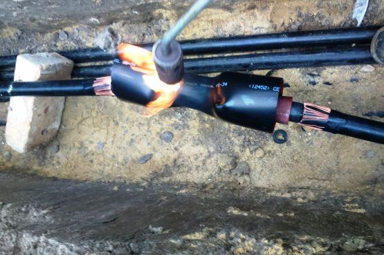 кабелни линии средно и ниско напрежение изграждане на кабелни линии средно и ниско напрежение ремонт на кабелни линии средно и ниско напрежение външни